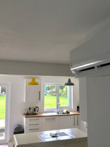 domestic and commercial air source heating